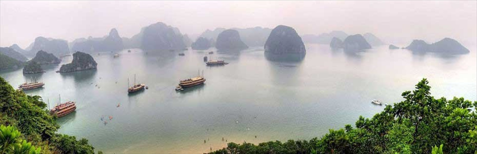 Connect with the World - Halong Bay, Vietnam